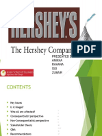 Hershey Case Study - Group 5