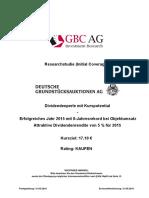Deutsche Grundstücksauktionen AG (Von GBC AG) 20160531