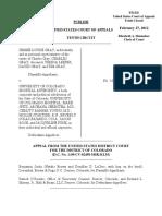 Gray v. University of Colorado Hosp. Authority, 672 F.3d 909, 10th Cir. (2012)