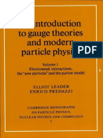 (Cambridge Monographs on Particle Physics, Nuclear Physics and Cosmology Vol.1) Elliot Leader, Enrico Predazzi-An Introduction to Gauge Theories and Modern Particle Physics 2 Volume Hardback Set (Camb.pdf