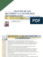 Administracion de Los Recursos y La TI