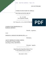 Looking Good Properties LLC v. Ascot Corporate Names Limited, 11th Cir. (2014)