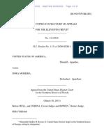United States v. Dora Moreira, 11th Cir. (2015)