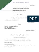 United States v. Jeffrey Wallace Edwards, 11th Cir. (2013)