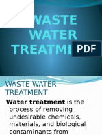Waste Water Treatment1