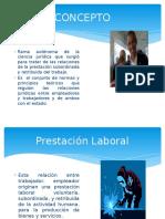Unidad I - concepto Derecho Laboral