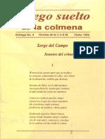 Sonetos Del Crimen (Xorge Del Campo)