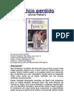 Anne Peters - El Hijo Perdido