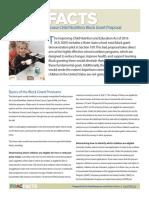 FRAC Facts Block Grant Summary