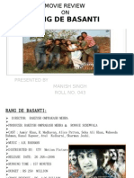Movie Review on Rang de Basanti