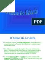 1-o cisma do oriente- João Macedo & Ana Só Ares