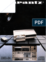 Marantz Brochure 1983-84001