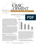 When Will the Eurozone Collapse?, Cato Economic Development Bulletin No. 14