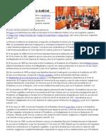Historia Del Organismo Judicial
