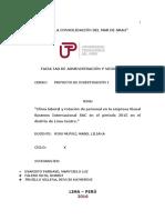 Proyecto de Investigacion Presentacion Ultimo, 26-06-16