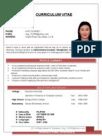DIANE Resume