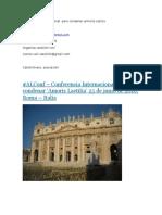 Conferencia internacional  para condenar armoris Leticia.docx