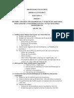 Trabajo Unidad I- Audit II-Inventarios
