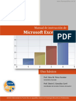 Manual de Instruccion de Microsoft Excel 2013