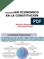 Regimen Economico en La Constitucion