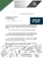 La AFA pidió romper el contrato de Fútbol para Todos