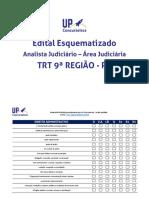 edital ANALISTA+JUDICIÁRIO+ÁREA+JUDICIÁRIA+TRT+9ª+REGIÃO+PR