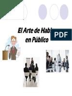El Arte de Hablar en Público Version PDF