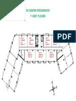 Floor Plan for 3,6,8,10,12 Levels