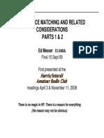 ImpedanceMatching EMesser 2009-09-15