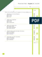 Placement Test English A1 - B1.pdf.pdf