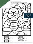 Easter Mysterymathpicture Addition WMDRQ