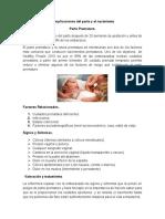 Complicaciones Del Parto y El Nacimiento