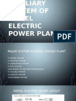 Auxiliary System of Diesel Electric Power Plant