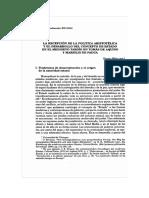 Wieland La recepción de la política aristotélica en Tomás de Aquino y Marsilio de Padua.