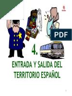 Capitulo 1 Entrada y Salida Del Territorio Espanol