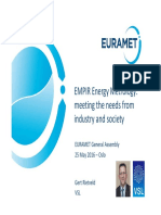 Euramet Task Group Energy