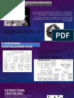 Mecanica Aplicada /cristalografia /estructura cristalina