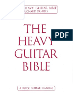 Richard Daniels the Heavy Guitar Bible