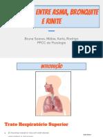Diferenças Entre Asma, Bronquite e Rinite