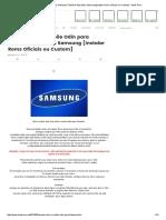 Usando Odin e Mobile Odin Para Flashear Aparelhos Samsung [Instalar Roms Oficiais Ou Custom] - Stock Rom