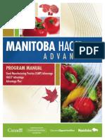 Manual GMP and HACCP Guide Book