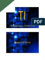 TI 2016-5- Bases de Datos