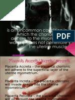 Placenta Accreta Report