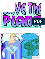 Banner Save the Planet