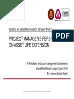 Building Asset Rejuvenation Strategy RAMS Conference Kuala Lumpur April 2016