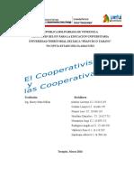 Trabajo de Cooperativismo