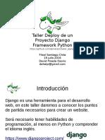 Presentacion Django Meetup