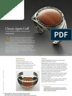 Classic Agate Cuff