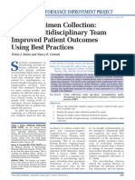Urine Specimen Collection- How a Multidisciplinary Team Improved Patient Outcomes Using Best Practices - ProQuest