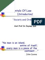 Fundamentals of Law (Society)